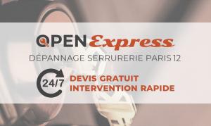 Serrurier Paris 12 Open Expressopen-express-paris-12